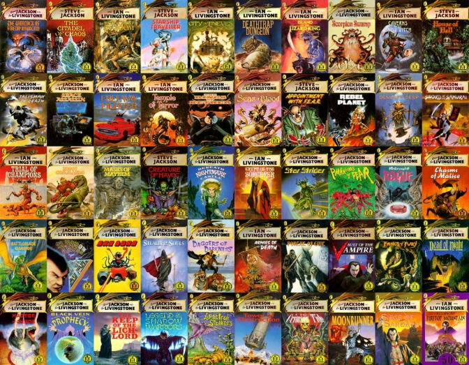 I interviewed Ian Livingstone creator of Fighting Fantasy about the future of gaming