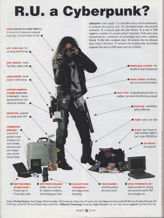 Whatever happened to cyberpunk?
