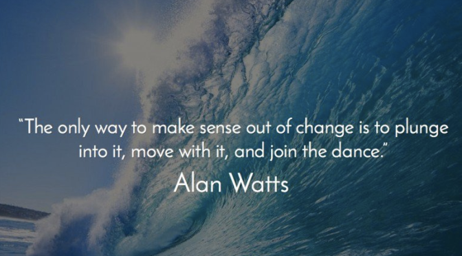 Alan Watts on finding security in insecurity