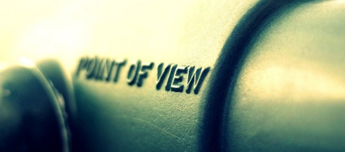 Point-Of-View matters, but it doesn't matter that much