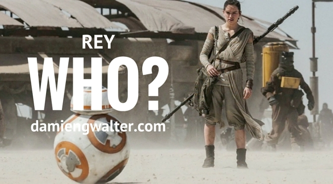 So. Who are Rey's parents? ***SPOILER WARNING***