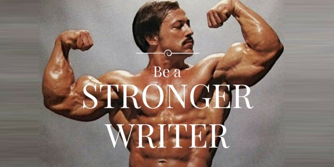 This exercise will make you a stronger writer (WARNING: it's hard.)