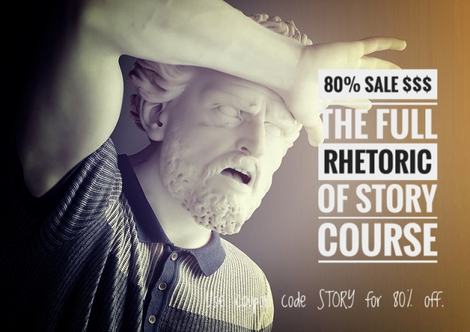 Rhetoric of Story weekend sale!