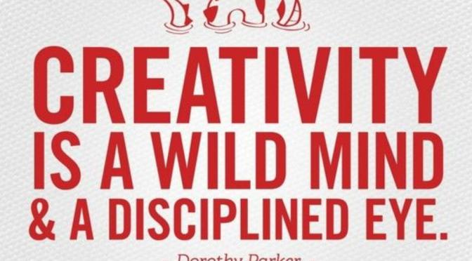 Creativity Is A Wild Mind